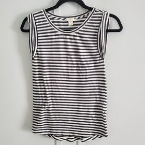 J Crew Stripped Top